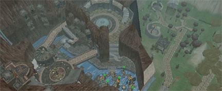 Second Life\'s Uru Island, created by fans, and reopened through Gametap to promote Myst Online: Uru Live